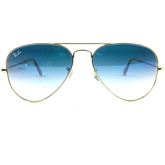 43084e3c5c NEW Ray Ban Blue Gold Gradient Aviator Sunglasses.  M 5a95c738f9e5012b33814a2d